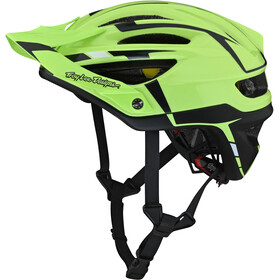 Troy Lee Designs A2 MIPS casco per bici, sliver green/grey